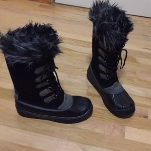 Capelli of New York-snow boots size 10 GUC